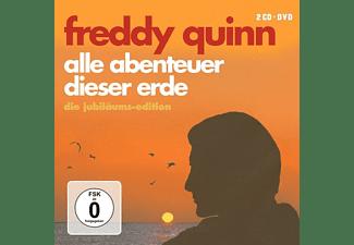 Freddy Quinn - Alle Abenteuer Dieser Erde-Die Jubiläums-Edition [CD + DVD Video]