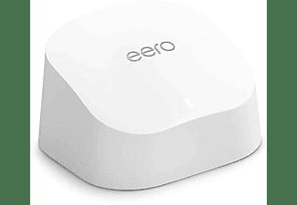 AMAZON WLAN Router eero 6, Einzelgerät, Dualband-Mesh, WiFi 6, AX1800, Weiß