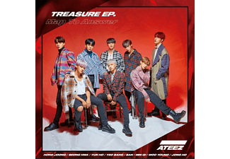 Ateez - Treasure EP.-Map To Answer-Z Version [CD]