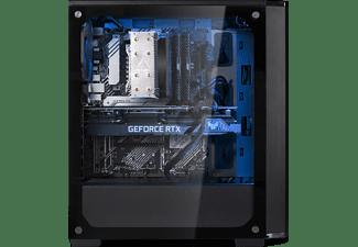 JOULEPERFORMANCE Gaming PC Nuke RTX3060 II7 (11th Gen), i7-11700F, 16GB RAM, 500GB SSD, 1TB HDD, RTX 3060, Schwarz