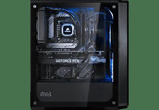 JOULEPERFORMANCE Gaming PC Nuke RTX3070 II7 (11th Gen), i7-11700F, 16GB RAM, 1TB SSD, RTX3070, Wasserkühlung, Schwarz