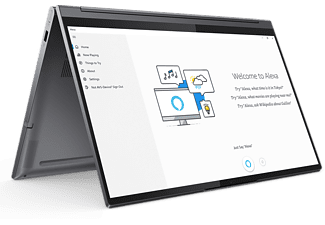 LENOVO Convertible Yoga 9 15IMH5, i7-10750H, 16GB RAM, 1TB SSD, GTX 1650Ti, 15.6Zoll Touch UHD, Slate Grey