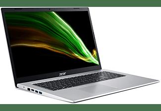 ACER Notebook Aspire 3 A317-33-C151, Celeron N5100, 8GB RAM, 256GB SSD, 17.3 Zoll FHD, Silber