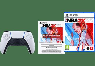 SONY DualSense™ Wireless Controller NBA 2K22 Schnellstart-Bundle + NBA 2K22