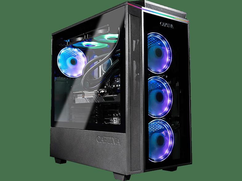 CAPTIVA R61-127, Gaming PC, 32 GB RAM, 2 TB SSD HDD, Radeon RX 6700 XT, 12