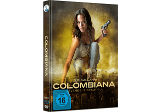 Colombiana exklusives(CoverB, neu gezeichnetes Artwork, Blu-ray+DVD, limitiert auf 333 Stück, durchnummeriert) Blu-ray + DVD