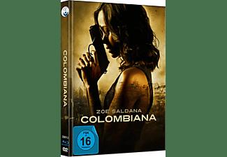 Colombiana exklusives Limited Mediabook (Cover C, Original Artwork limitiert auf 333 Stück, durchnummeriert) Blu-ray + DVD