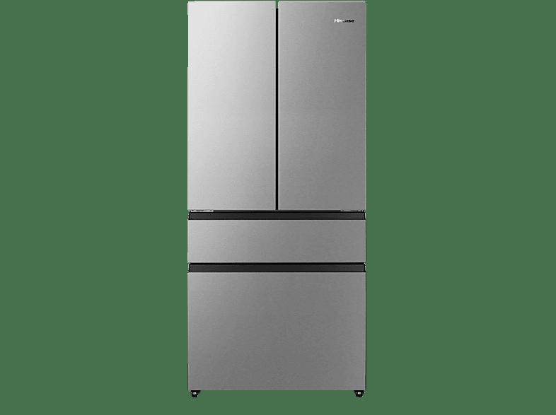 HISENSE RF540N4SBI2 French Door E, 1817 mm hoch, Grau