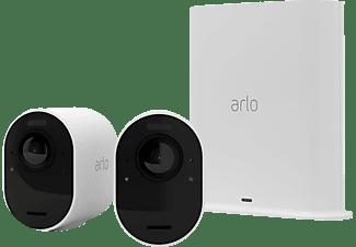 ARLO Ultra2 2er StarterSet, Überwachungskamera, Auflösung Video: 4K-HDR-Video