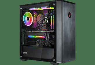 JOULEPERFORMANCE Gaming PC Strike RTX3080 AR7 Ultimate, R7-5800X, 32GB RAM, 1TB/2TB, RTX 3080, Wasserkühlung, Schwarz