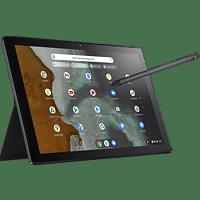 ASUS Chromebook CM3 (CM3000DVA-HT0011) inkl. Stylus, Chromebook mit 10,5 Zoll Display Touchscreen, MediaTek - Prozessor, 4 GB RAM, 64 GB eMMC, Arm Mali-G72 MP3, Mineral Grey
