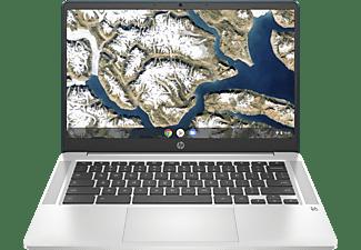 "Portátil - HP Chromebook 14a-na0012ns, 14"" FHD, Intel® Celeron® N4020, 4 GB, 64 GB eMMC, Chrome OS, Plata"