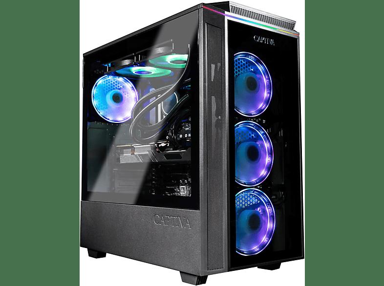 CAPTIVA R59-689, Gaming PC, 16 GB RAM, 1 TB SSD, 2 HDD, RTX 3070 8GB, 8
