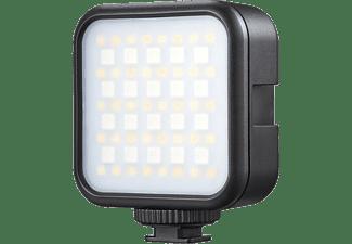GODOX Panel-LED LED6R mit Lithium-Batterie, 270 Lux, 3200-6500K, Schwarz