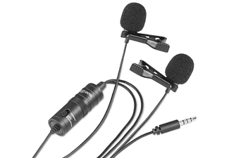 BOYA BY-M1DM Duales omnidirektionales Lavalier-Mikrofon