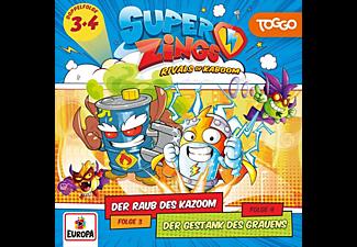 Superzings - Folge 3: Der Raub des Kazoom/Folge 4: Der Gestan [CD]