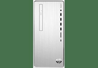 HP Desktop PC Pavilion TP01-2101ng, R7-5700G, 16GB RAM, 1TB SSD, DVD Laufwerk, Natural Silver