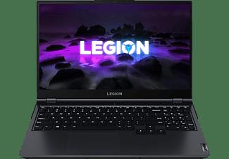 LENOVO Legion 5, Gaming-Notebook mit 15,6 Zoll Display, AMD Ryzen™ 5 Prozessor, 16 GB RAM, 512 GB SSD, GeForce RTX 3070, Phantom Blue/Black