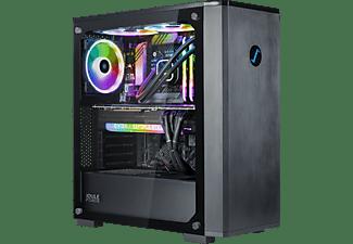JOULEPERFORMANCE Gaming PC Nuke RTX3080 II7 Ultimate, i7-11700F, 32GB RAM, 1TB/2TB, RTX 3080, Wasserkühlung, Schwarz