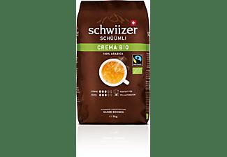 SCHWIIZER SCHÜÜMLI Kaffeebohnen Crema BIO 1kg