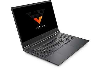 HP Gaming Notebook Victus 16-e0902ng, R7-5800H, 16GB, 512GB, RTX3050, 16.1 Zoll FHD 144Hz, Mica Silver