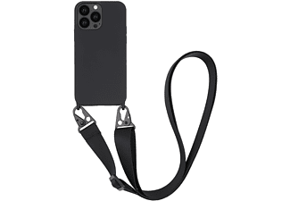 VIVANCO Necklace Cover für Apple iPhone 13 Pro, schwarz