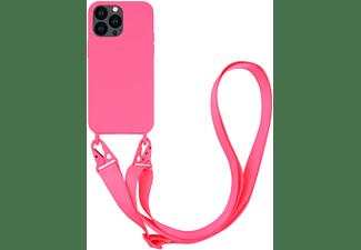 VIVANCO Necklace Cover für Apple iPhone 13 Pro, pink