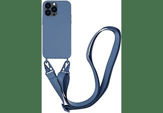 VIVANCO Necklace Cover für Apple iPhone 13 Pro, blau