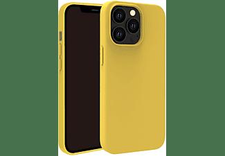 VIVANCO Hype Cover, Schutzhülle für Apple iPhone 13 Pro, gelb