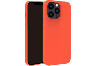 VIVANCO Hype Cover, Schutzhülle für Apple iPhone 13 Pro, orange