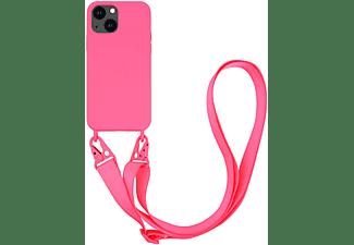 VIVANCO Necklace Cover für Apple iPhone 13, pink