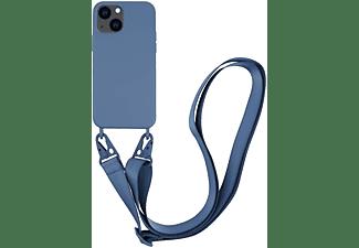 VIVANCO Necklace Cover für Apple iPhone 13, dunkelblau
