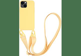 VIVANCO Necklace Cover für Apple iPhone 13, gelb