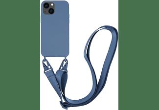 VIVANCO Necklace Cover für Apple iPhone 13 mini, dunkelblau