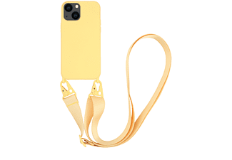 VIVANCO Necklace Cover für Apple iPhone 13 mini, gelb
