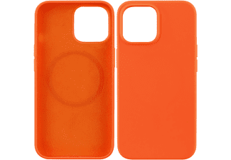 VIVANCO MagSafe Hype Cover für Apple iPhone 13 mini, orange