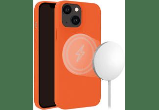 VIVANCO MagSafe Hype Cover für Apple iPhone 13, orange