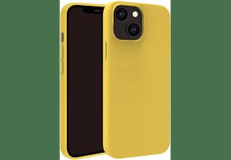 VIVANCO Hype Cover, Schutzhülle für Apple iPhone 13 mini, gelb