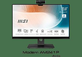 "All in one - MSI Modern AM241P, 23.8"" Full-HD, Intel® Core™ i7-1165G7, 16 GB RAM, 512 GB SSD, UMA, W10, Negro"