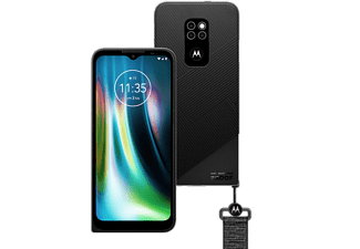 "Móvil - Motorola Defy, Negro, 64 GB, 4 GB RAM, 6.5"" HD+, Snapdragon 662, 5000 mAh, Android"