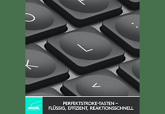 LOGITECH Tastatur MX Keys Mini, Bluetooth, Tastenbeleuchtung, QWERTZ, Graphite