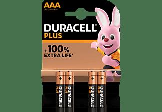 DURACELL 141117 AAA Micro Batterie, Alkaline, 1.5V Volt 4 Stück