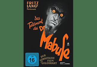 Das Testament des Dr.Mabuse [DVD]