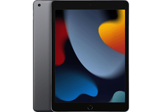 APPLE iPad Wi-Fi + Cellular (9. Generation 2021), Tablet, 64 GB, 10,2 Zoll, Space Grau