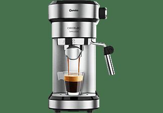Cafetera express - Cecotec Cafelizzia 790 Steel, 1350W, Calentamiento rápido, 20 bar, 1.2 L, 1-2 cafés, Inox