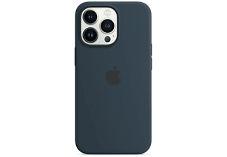 APPLE Silikon Case mit MagSafe in Abyssblau für iPhone 13 Pro
