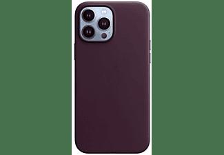 APPLE Leder Case mit MagSafe in Dunkelkirsch für iPhone 13 Pro Max