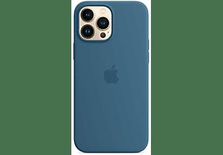 APPLE Silikon Case mit MagSafe in Eisblau für iPhone 13 Pro Max