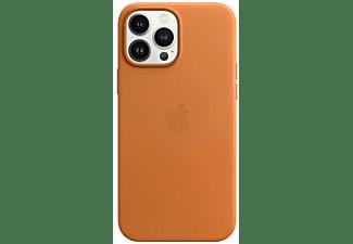 APPLE Leder Case mit MagSafe in Goldbraun für iPhone 13 Pro Max