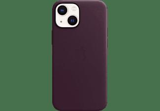 APPLE Leder Case mit MagSafe in Dunkelkirsch für iPhone 13 mini